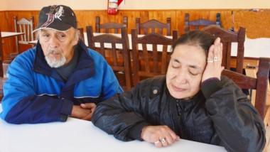 Claudia Carrasco junto a su esposo. Recordó a su hija y pidió celeridad a la Justicia por el crimen de Rosa.