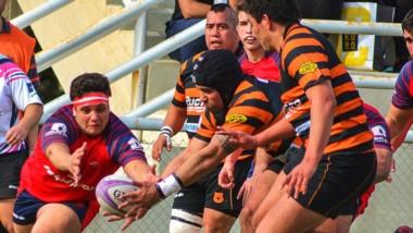 """En Rawson, el """"Yunque"""" derrotó a Roca RC por 12 a 8, en la segunda fase del Torneo Regional de Rugby."""