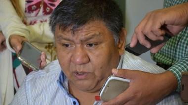 """""""Loma"""" Ávila, Secretario general del Petróleo y Gas Privado de Chubut.."""