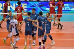 Argentina clasificó a la segunda fase: al ganar el tercer set consiguió el punto clave para lograr el pasaje a la próxima ronda.