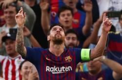 Messi ha marcado 103 goles en sus últimos 100 partidos oficiales con el Barcelona.