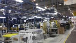 La planta de Electrolux, la fabricante de heladeras, vacía. Licenciaron al personal por un mes.