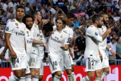 Goleada blanca para abrir la defensa de su tricampeonato en la Liga de Campeones de Europa.