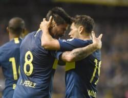 En la ida Boca ganó 2-0 con tantos de Zárate y Pablo Pérez.