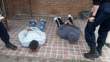 Los jóvenes fueron capturados cuando salían de la casa de Los Teros.