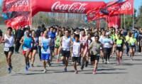 Más de cien atletas participaron del evento deportivo solidario.