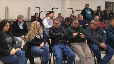 Entusiasmo. Funcionarios, dirigentes y militantes radicales se encontraron para discutir la interna
