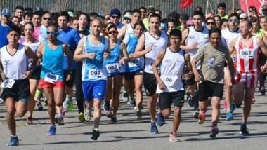 Más de cien atletas participaron ayer de la Corrida Solidaria en el Sindicato de Empleados de Comercio.