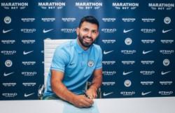 Sergio Aguero renueva con el Manchester City hasta el 2021. El Kun se queda.