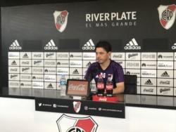 Marcelo Gallardo tiene una duda en el medio y por eso no definió el equipo.