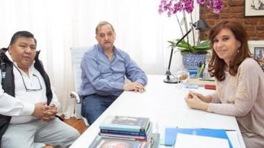 Linares, junto al titular del sindicato petrolero, hablaron con Cristina de la realidad de Comodoro.