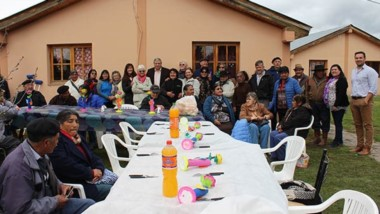 El viernes los abuelos festejaron la llegada de la estación primaveral.