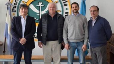 La reunión se realizó en el puerto de Comodoro Rivadavia.