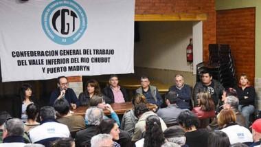 La CGT  Virch ratificó el paro y movilización para el próximo martes.