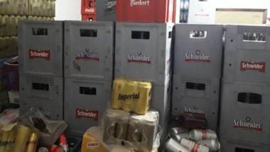 Los secuestros de botellas quedaron a disposición del juez de faltas de la Municipalidad de Trelew.