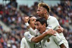 Di María aportó el del empate para PSG, que se lo terminó dando vuelta y es líder de la Ligue1 con puntaje ideal tras seis fechas.