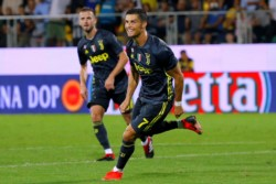 Cristiano Ronaldo lleva a la victoria al Juventus frente al Frosinone.