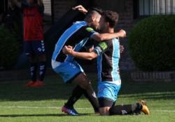 El pampeano Joaquín Susvielles anotó el gol de Almagro ante Quilmes.