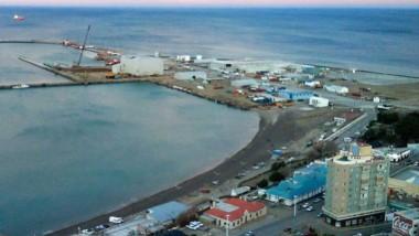 Puerto de Comodoro Rivadavia (foto  Telam)