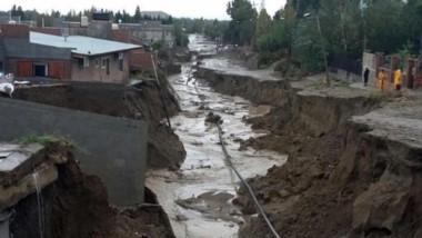 Desastre. La ciudad petrolera todavía no tiene los proyectos que necesita concretar tras el temporal.