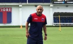 Ledesma que ganó cinco de 21 partidos dirigiendo a Tigre.