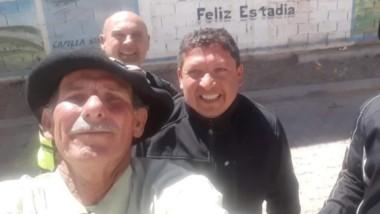Viaje internacional. Echegaray Davies en la frontera con Bolivia.