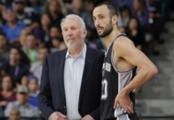 Popovich quiere a Manu Ginóbili cerca de los Spurs.