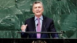 Mauricio Macri criticó el paro general: