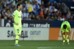 Barcelona perdió con el Leganés de Pellegrino.