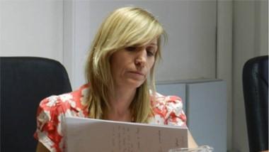Patricia Reyes. Jueza de la causa que investiga el abuso sexual del bebé.