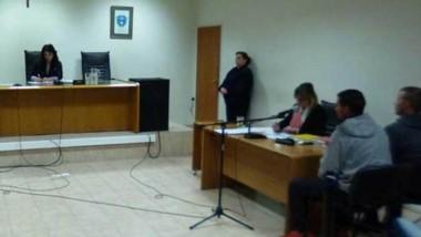 Una de las audiencias ante la jueza, su señoría Gladys Olavarría.