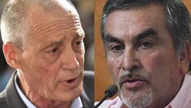 Contrapunto. Castán (izquierda) está a favor; Villarroel, en contra.