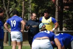 Ramiro Herrera, en su vuelta al seleccionado. Es el cuarto jugador que viene desde Europa en este Rugby Championship.