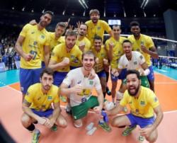 Brasil se metió en semifinales del Mundial de Vóley.