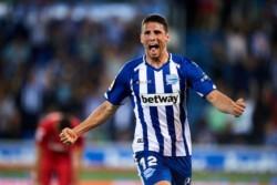 Calleri marcó el tanto de la igualdad de Alavés ante Getafe.