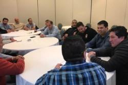 Cumbre. El Ejecutivo, el gremio de la construcción y los empresarios discutieron un esquema de nueva obra.