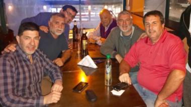 Integrantes de la Comisión Directiva del Círculo de Periodistas Deportivos del Chubut, se reunieron en Madryn.