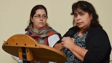Sonia Correa, referente de Cáritas en Esquel.