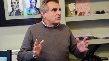 En la entrevista con Jornada, Rossi analizó la realidad de la Patagonia y las perspectivas electorales.