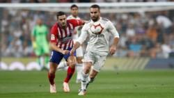 El clásico de Madrid finalizó igualado sin goles.