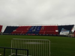 Cayó mucha agua sobre el Nuevo Gasómetro y debió suspenderse el partido. Lo mismo sucedió en Quilmes, donde Estudiantes juega de local.