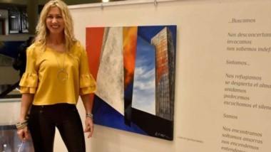 """""""El disparador e inspirador de miobra, es la vida misma"""",dijo a Jornada Alejandra Espinasse."""