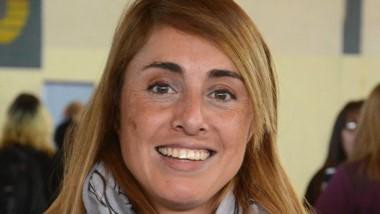 Ana Laura Ardiles, la docente seleccionada para la beca internacional.