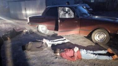 El Ford falcon fue interceptado en las Mil Viviendas ayer a la mañana.