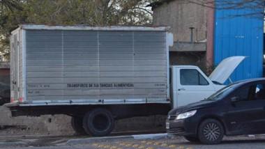 El camión se encontraba en cercanías de un taller y fue secuestrado por Sustracción del Automotor .