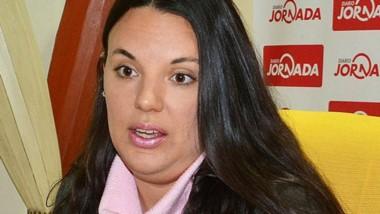 Ana Sánchez. La abogada querellante. Patrocina a una de las víctimas.