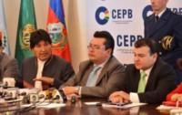 """""""Es hora de que el gobierno (de Evo Morales) nos convoque, sobre todo a los exportadores, para diseñar estrategias sobre el tipo de cambio"""", dijeron los empresarios. (Archivo)"""