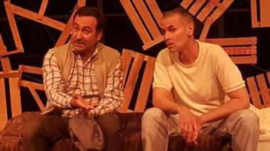 Fabrizio Cavero y Javier Valdivieso son los protagonistas de la obra.