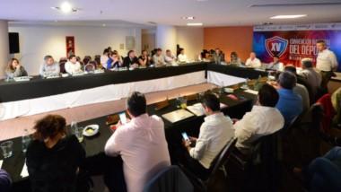 La provincia de Chubut estuvo representada por Walter Ñonquepán, presidente de Chubut Deportes.