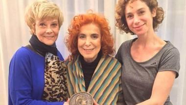 Verónica Pelaccini, Mirta Busnelli y María Ibarreta, jurados del MAFICI.